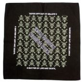 Iron Maiden - 'A Matter of Life and Death' Bandana